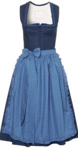 Baumwolldirndll Maria, dunkelblau - Julia Trentini