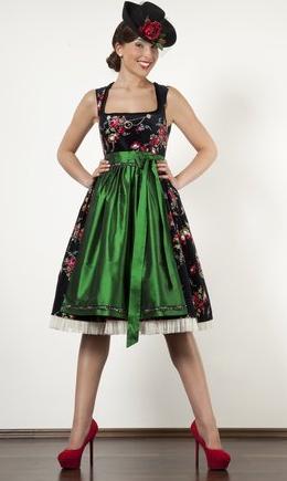 Schwarzwald Couture • Design Dirndl, Blumendirndl