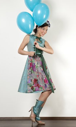 Schwarzwald Couture • Design Dirndl türkis