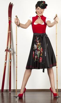 Schwarzwald Couture • Designt Dirndl mit Herzausschnitt