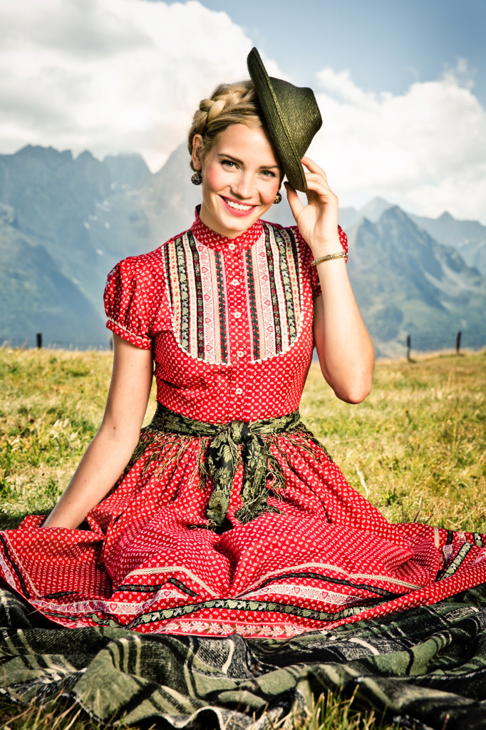 Lena Hoschek Dirndl Frühjahr/Sommer 2014