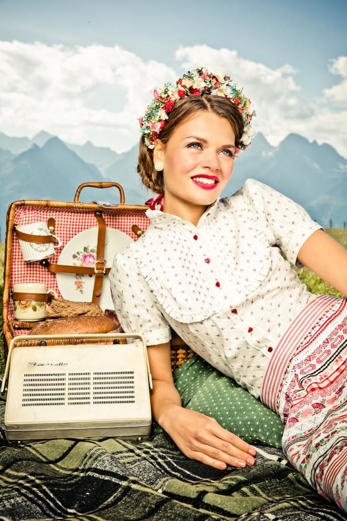 Lena Hoschek Bluse Frühjahr/Sommer 2014