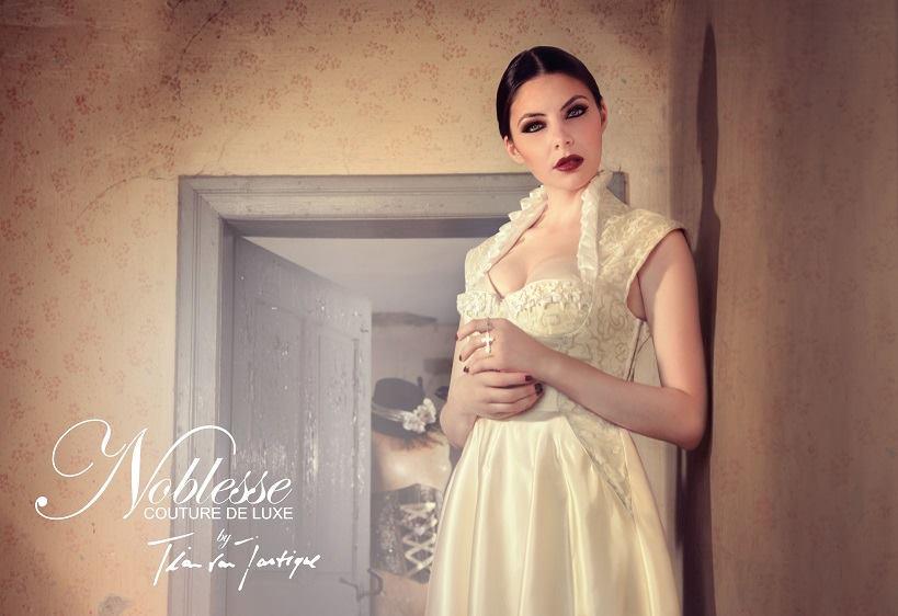 Hochzeitsdirndl Crème - Tian van Tastique