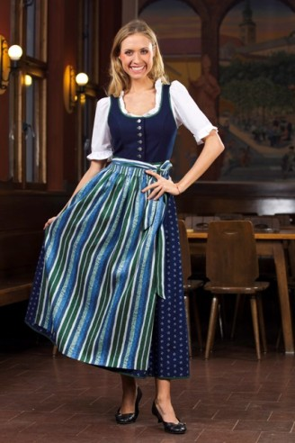 Trachten Outlet Original Salzburger - Dirndl mit Jacquardschürze