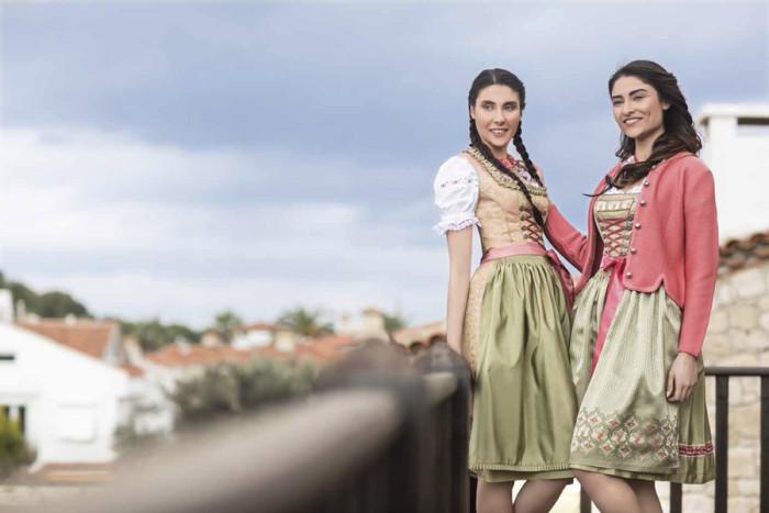 Oktoberfest Dirndl 2015 bei Bergweiss Trachten