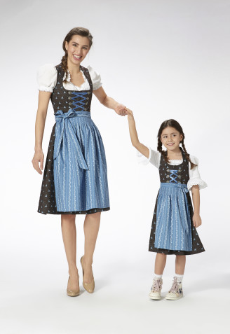 Almsach Dirndl für Mutter und Tochter