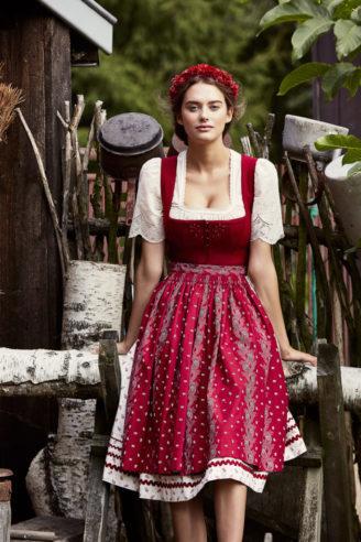 Rosina Dirndl - Lena Hoschek Frühjahr/Sommer 2018 - österreichische Dirndl