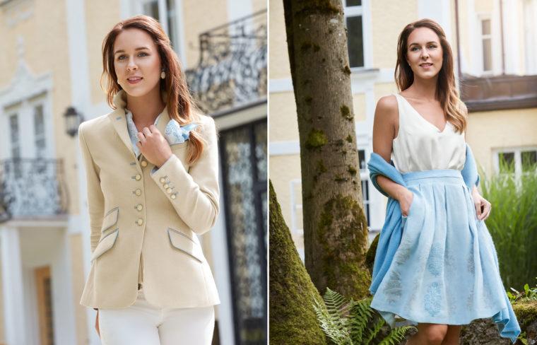 Zarte Farben für den Sommer - Trachtenmode 2018 Susanne Spatt, Salzburg