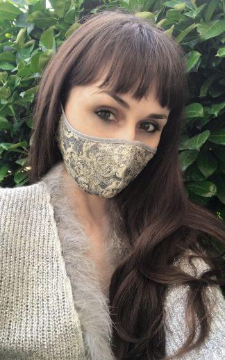 Design Gesichtsmaske Mothwurf