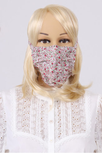Mundschutz aus Dirndl- Stoff. Mund-Nasen-Maske von Krüger Dirndl
