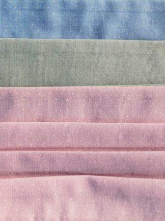 Trachten Stoffmasken Tostmannin hellen Farben, dezent