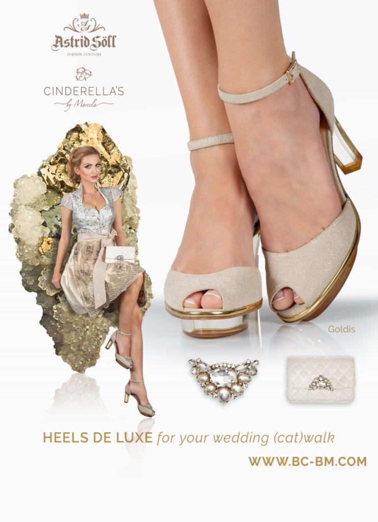 Dirndl Schuhe, Brautschuhe - CINDERELLA's by Marcela
